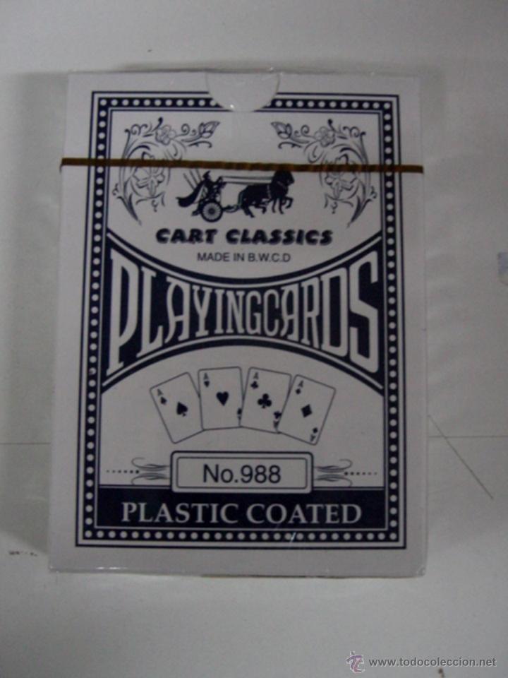 ANTIGUA BARAJA DE CARTAS - PLAYING CARDS - POKER - COMPLETAS SIN ABRIR CON SU PRECINTO - OLD DECK OF (Juguetes y Juegos - Cartas y Naipes - Otras Barajas)
