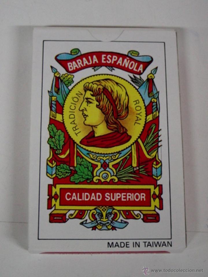 ANTIGUA BARAJA DE CARTAS - BARAJA ESPAÑOLA - 40 CARTAS - OLD DECK OF CARDS. (Juguetes y Juegos - Cartas y Naipes - Otras Barajas)