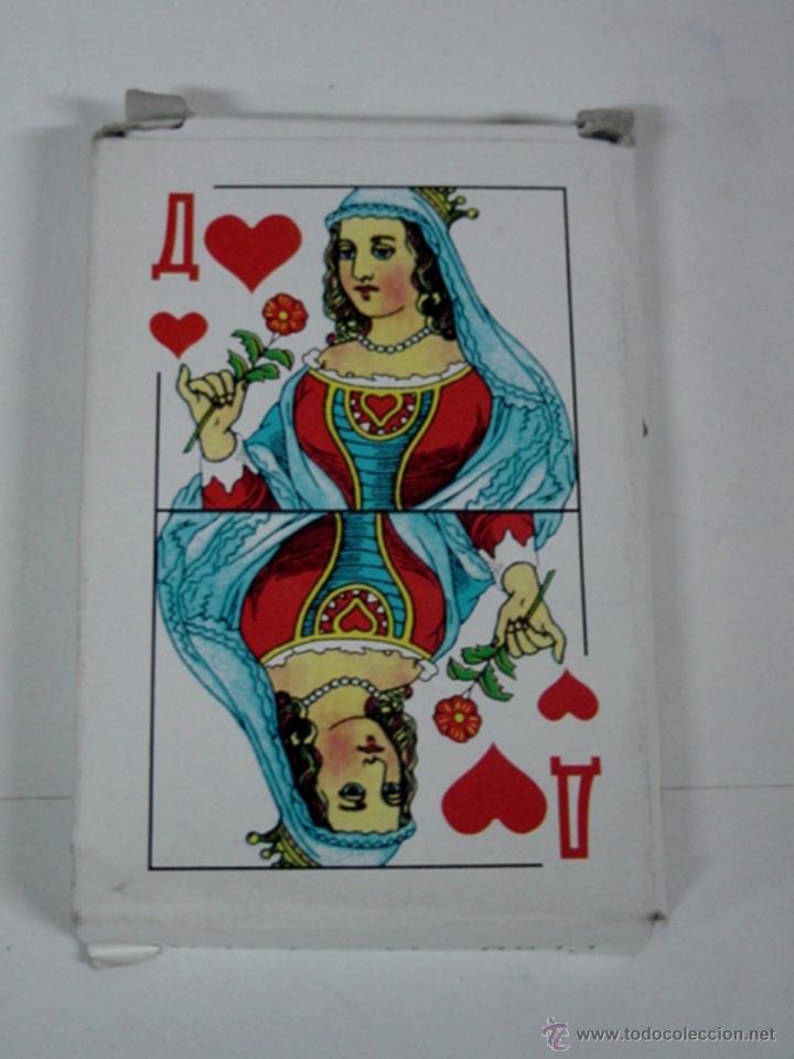 ANTIGUA BARAJA DE CARTAS - BARAJA COMPLETA CON 36 CARTAS - OLD DECK OF CARDS. (Juguetes y Juegos - Cartas y Naipes - Otras Barajas)