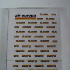 Barajas de cartas: ANTIGUA BARAJA DE CARTAS - CON PUBLICIDAD DE AIR EUROPA - OLD DECK OF CARDS.. Lote 38265178