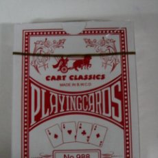 Barajas de cartas: ANTIGUA BARAJA DE CARTAS - PLAYING CARDS - POKER - COMPLETA SIN ABRIR CON SU PRECINTO - OLD DECK OF . Lote 38265180