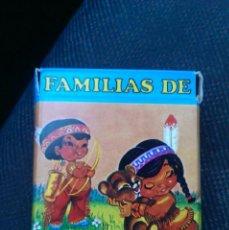 Barajas de cartas: BARAJA FAMILIA 7 PAISES (2ª EDICION AÑOS 70). Lote 40317376