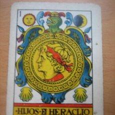 Barajas de cartas: RARA BARAJA DE CARTAS DE HIJOS DE HERACLIO FOURNIER.. Lote 40351645