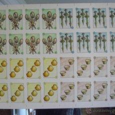 Barajas de cartas: BARAJA GALLEGA (PLIEGO DE TRESES). Lote 40414111
