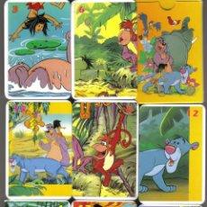 Barajas de cartas: BARAJA INFANTIL JUEGO DE PAREJAS EL LIBRO DE LA SELVA-AÑO 2010. Lote 40415943