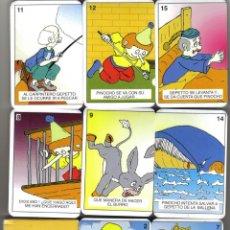 Jeux de cartes: BARAJA INFANTIL JUEGO DE PAREJAS PINOCHO-AÑO 2010. Lote 40416140