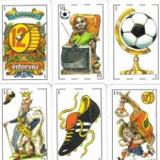 Barajas de cartas: BARAJA ESPAÑOLA MUNDIAL DE ALEMANIA 2006-INTERVIU. Lote 40416388