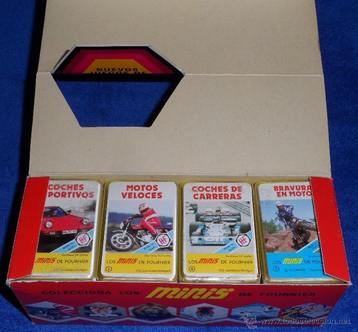 Barajas de cartas: 20 barajas minis de Fournier + caja expositor - Fournier - Años 1978 y 1979 - ¡COLECCION COMPLETA! - Foto 3 - 26280728