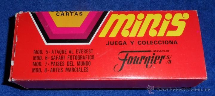 Barajas de cartas: 20 barajas minis de Fournier + caja expositor - Fournier - Años 1978 y 1979 - ¡COLECCION COMPLETA! - Foto 4 - 26280728