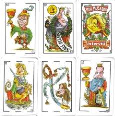 Barajas de cartas: BARAJA ESPAÑOLA HABEMUS BODA-INTERVIU-ROJA-FOURNIER-AÑO 2004. Lote 123543194