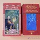Barajas de cartas: TAROT DE LOS DRAGONES - MANFREDI TORALDO. Lote 37212900