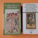 Barajas de cartas: TAROT DE LA ARMONÍA - GIORDANO BERTI. Lote 37213073