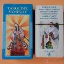 Barajas de cartas: TAROT DEL SAMURAY - MASSIMILIANO FILADORO. GIANCARLO CARACUZZO. Lote 37213464