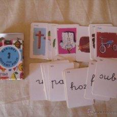 Barajas de cartas: BARAJA. BARAJITA DE CARTAS SISTEMA PALAU 3. ANAYA. IMPECABLE EN SU CAJA. . Lote 147904540