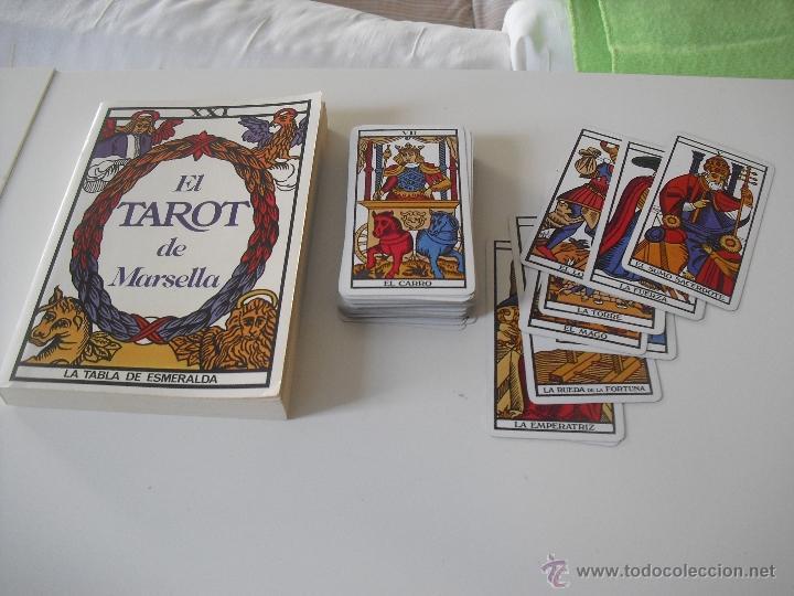 tarot de marsella baraja de 78 cartas