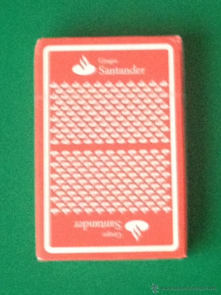 FOURNIER PUBLICIDAD BANCO GRUPO SANTANDER - BARAJA NAIPES 40 CARTAS - PRECINTADA (Juguetes y Juegos - Cartas y Naipes - Baraja Española)