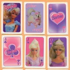 Barajas de cartas: BARAJA INFANTIL BARBIE FOR GIRLS. NAIPES.. Lote 40715418