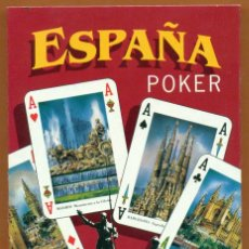 Barajas de cartas: BARAJA POKER ESPAÑA. NAIPES. PLAYING CARDS. JEU DE CARTES. SPIELKARTEN. Lote 40715602