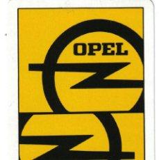 Barajas de cartas: BARAJA ESPAÑOLA PUBLICITARIA AUTOMOVILES OPEL-FOURNIER. Lote 40719016