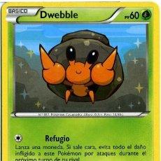 Mazzi di carte: DWEBBLE - Nº 6 - CARTAS POKEMON - POKEMON TRADING CARD - AÑO 2012. Lote 40805803