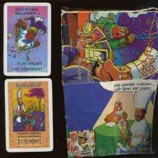 Jeux de cartes: BARAJA DE CARTAS FOURNIER JUEGO DE NAIPES DE KARLOS ARGUIÑANO EL JUEGO DEL RICO RICO. Lote 40816295
