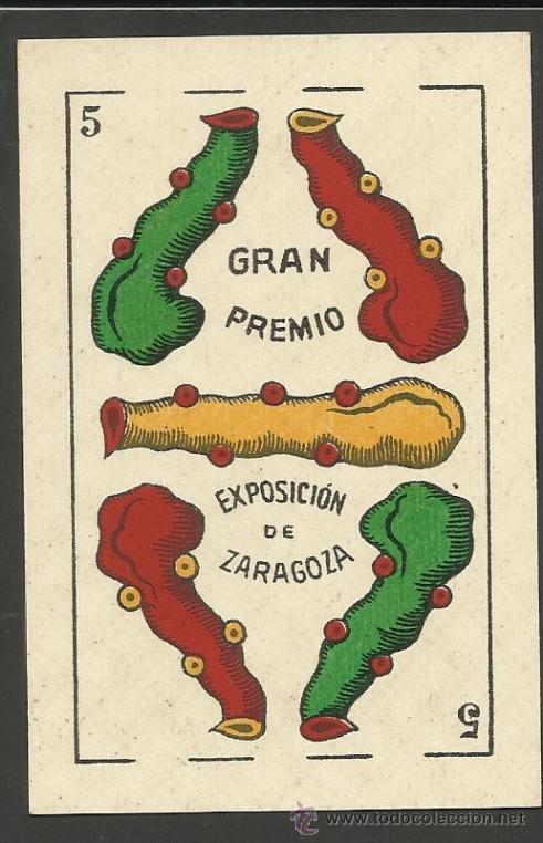 Barajas de cartas: BARAJA COMPLETA 40 CARTAS EL CABALLO -L. GUARRO -EXPOSICION DE ZARAGOZA -1908 - (CR-267) - Foto 2 - 40879172