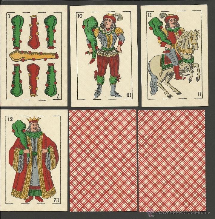 Barajas de cartas: BARAJA COMPLETA 40 CARTAS EL CABALLO -L. GUARRO -EXPOSICION DE ZARAGOZA -1908 - (CR-267) - Foto 8 - 40879172