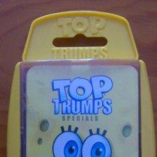 Barajas de cartas: BARAJA DE CARTAS TOP TRUMPS BOB ESPONJA. Lote 40907786