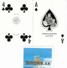Barajas de cartas: BARAJA PUBLICITARIA SEGUROS TEMPUS SA-FOURNIER-AÑOS 70. Lote 40928367