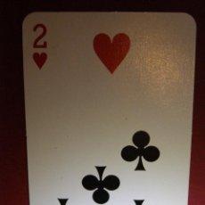 Barajas de cartas: CARTA DOBLE PARA TRUCOS DE MAGIA - LA MOSTRADA -. Lote 40998366