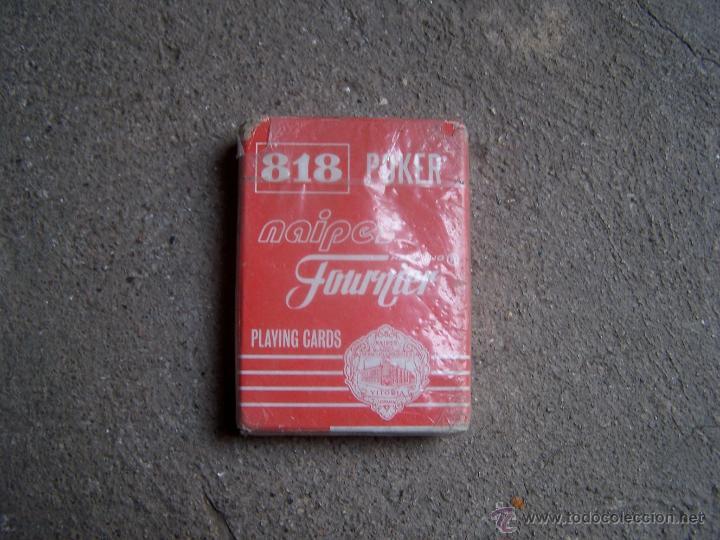 HERACLIO FOURNIER, BARAJA 818 POKER, 55 CARTAS. (Juguetes y Juegos - Cartas y Naipes - Barajas de Póker)