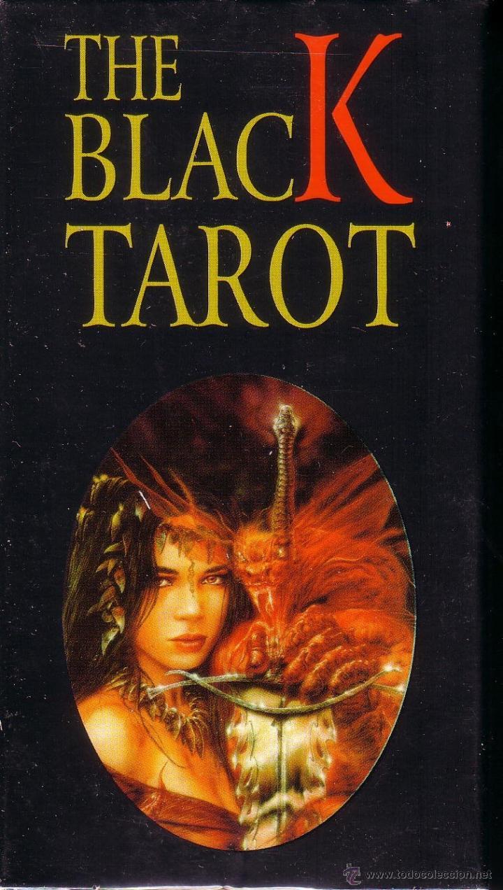 THE BLACK TAROT (Juguetes y Juegos - Cartas y Naipes - Barajas Tarot)