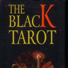 Barajas de cartas: THE BLACK TAROT. Lote 157219020