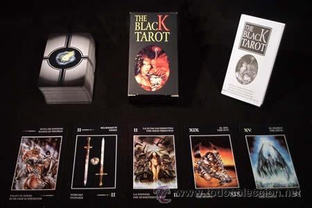 Barajas de cartas: THE BLACK TAROT - Foto 2 - 157219020
