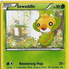 Mazzi di carte: SEWADDLE - Nº 1 - CARTAS POKEMON - POKEMON TRADING CARD - AÑO 2012. Lote 41077022