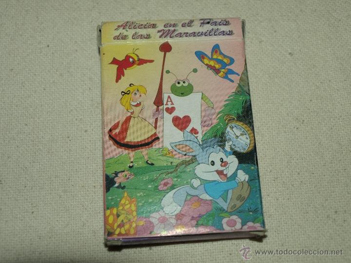 Barajas de cartas: BARAJA DE JUEGO DE PAREJAS. ALICIA EN EL PAIS DE LAS MARAVILLAS. 31 CARTAS. VER FOTOS. - Foto 6 - 41077740