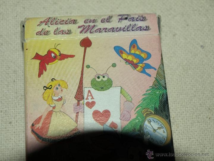 Barajas de cartas: BARAJA DE JUEGO DE PAREJAS. ALICIA EN EL PAIS DE LAS MARAVILLAS. 31 CARTAS. VER FOTOS. - Foto 7 - 41077740
