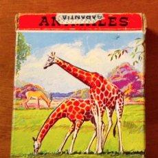 Barajas de cartas: BARAJA INFANTIL ANIMALES VERTEBRADOS ( VIDA Y COLOR) 1968. Lote 41083242