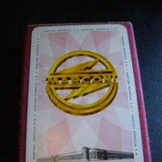 Barajas de cartas: ANTIGUA BARAJA FOURNIER - MARCONI ESPAÑOLA, S.A. - IMPUESTO SOBRE NAIPES - 1960 -. Lote 41120896