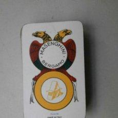 Barajas de cartas: BARAJA DE CARTAS MASENGHINI BERGAMO BARAJACARTAS-52. Lote 41160184