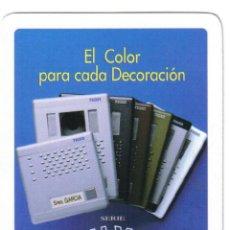 Barajas de cartas: BARAJA ESPAÑOLA PUBLICITARIA VIDEO PORTEROS TEGUI-FOURNIER-AÑOS 90. Lote 41215946