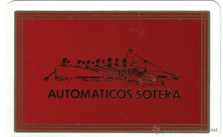 BARAJA ESPAÑOLA PUBLICITARIA AUTOMATICOS LA SOTERA-FOURNIER-AÑOS 90 (Juguetes y Juegos - Cartas y Naipes - Baraja Española)