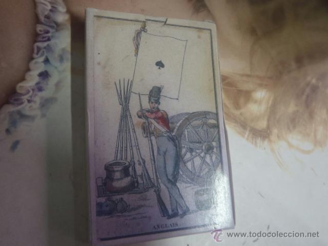 BARAJA DE LAS BANDERAS,FRANCIA SIGLO XIX (Juguetes y Juegos - Cartas y Naipes - Otras Barajas)