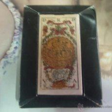 Barajas de cartas: BARAJA VALENCIANA ESPAÑOLA SIGLO XVIII. Lote 41268295