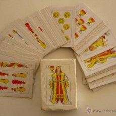 Barajas de cartas: BARAJA ESPAÑOLA MINIATURA COMPLETA 48 CARTAS. . Lote 41282645