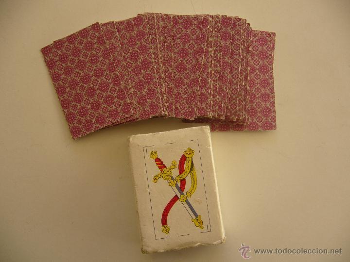 Barajas de cartas: Baraja española miniatura completa 48 cartas. - Foto 2 - 41282645