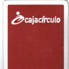 Barajas de cartas: BARAJA ESPAÑOLA PUBLICITARIA CAJACIRCULO(BURGOS)-FOURNIER. Lote 41343072