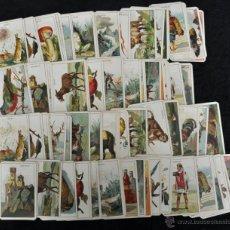Barajas de cartas: CURIOSA BARAJA ITALIANA DEL AÑO 1908. 40 + 40 CARTAS (COMPLETA) EXCELENTE ESTADO . Lote 41410079