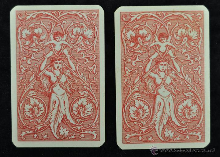 Barajas de cartas: CURIOSA BARAJA ITALIANA DEL AÑO 1908. 40 + 40 CARTAS (COMPLETA) EXCELENTE ESTADO - Foto 6 - 41410079