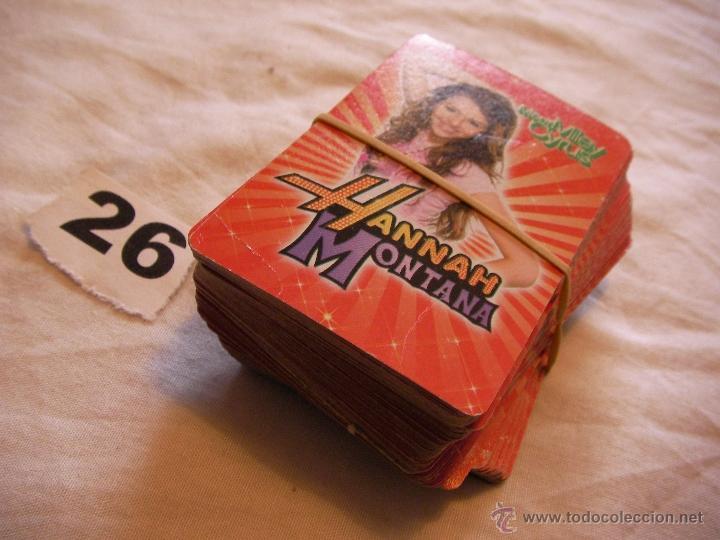 GRAN LOTE DE CARTAS DE HANNA MONTANA - ENVIO GRATIS A ESPAÑA (Juguetes y Juegos - Cartas y Naipes - Otras Barajas)